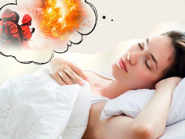К чему снится огонь пожар во сне для женщины?