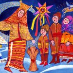 Щедривка на русском языке для детей