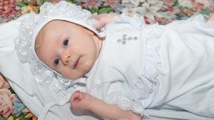 Что нужно для крещения ребенка девочки