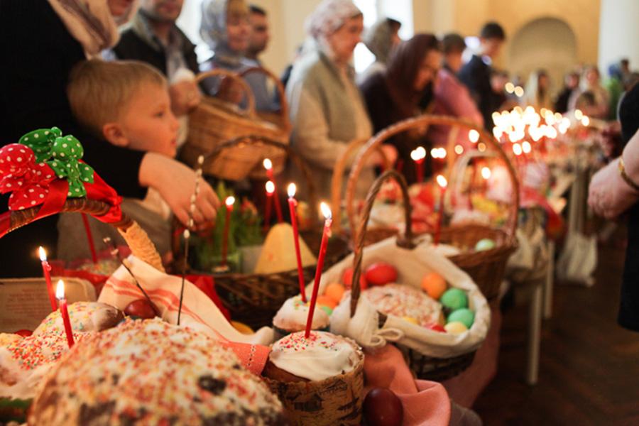 Когда святить Пасху в церкви 2019