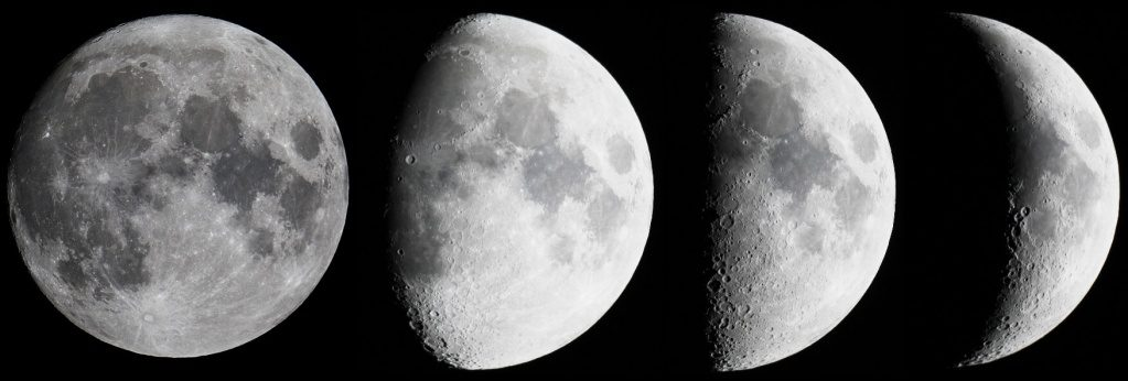 Когда будет убывающая луна в марте 2019 года