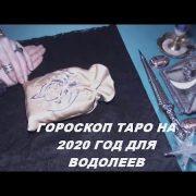 Гороскоп Таро на 2020 год для Водолеев.