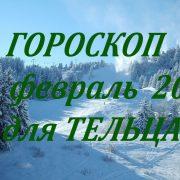 ТЕЛЕЦ - ФЕВРАЛЬ 2020. Гороскоп от Марины Скади